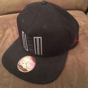 Black Gray 23 Jumpman Nike Jordan Hat Men's Sports